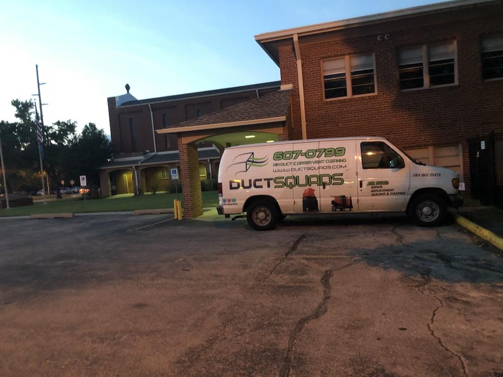 Duct Squads Van