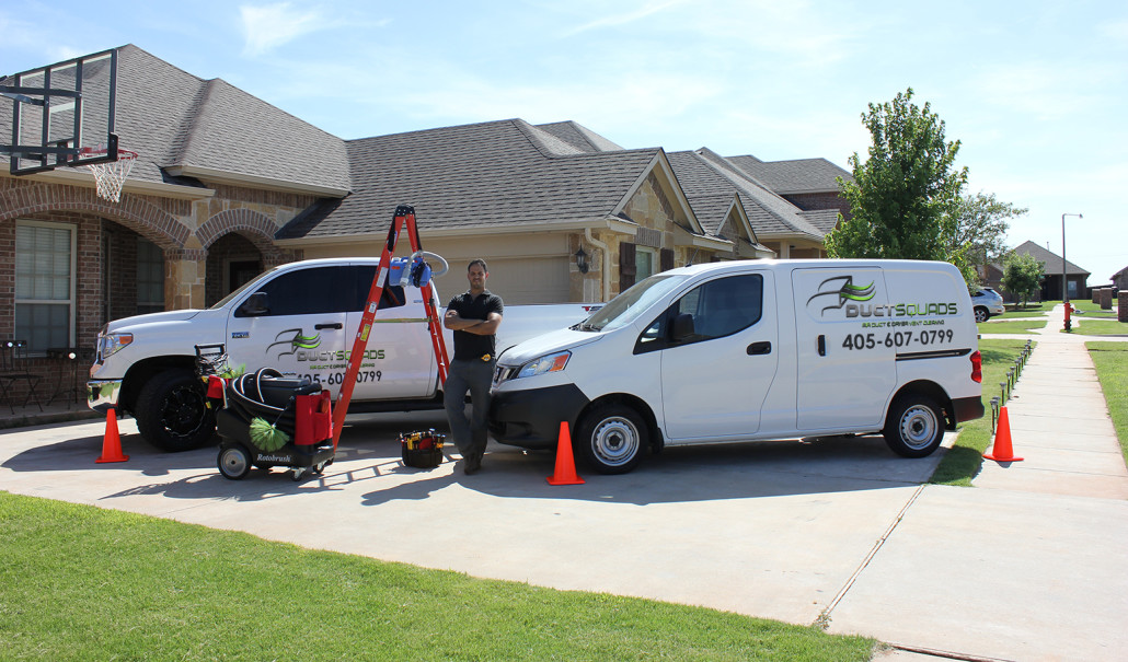 Duct Squads Air Duct & Dryer Vent cleaning vans